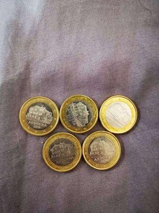 Oferta!! Monedas de 1 Euro Andorra