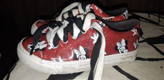 zapatos niña Minnie Mouse