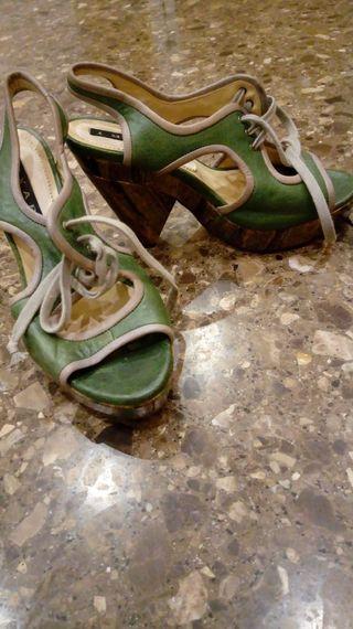 Zapatos de tacon talla 38