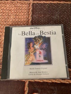 "CD B.S.O. ""la bella y la bestia"""