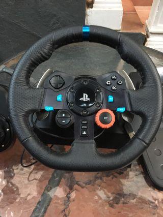 Volante Logitech G29 + Logitech Shifter