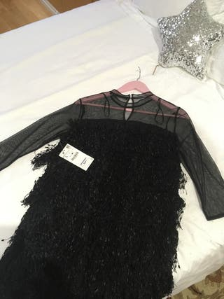 Vestido negro Zara a estrenar