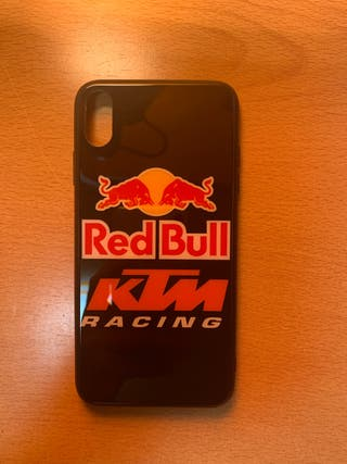Funda ktm y red bull iphone XS MAX