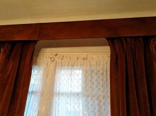 cortinas ganchillo a mano