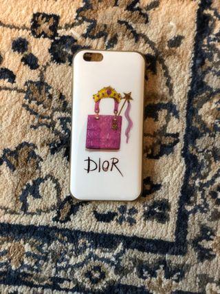 Funda para iphone 6 y 6S de Dior.