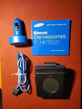 Manos libres Bluetooth SAMSUNG con cargador coche