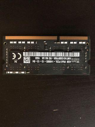 RAM, 16gb en 4 módulos de 4gb.