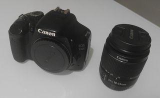 Canon 550D con mochila
