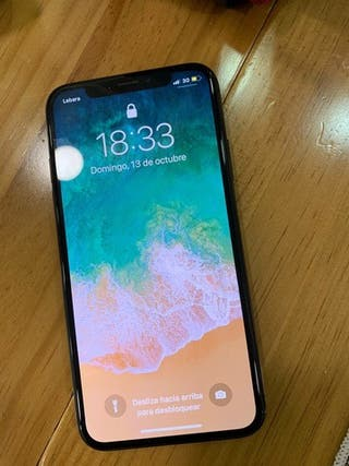 Iphone x 256 gb gris espacial