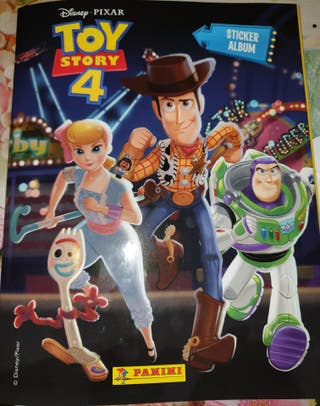 cambio cromos toy story 4