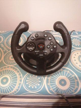 volante y pedales para PC