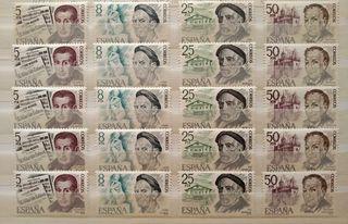 Series de sellos nuevos