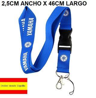 LANYARD NUEVO YAMAHA R6 R1 600 1000 YZF AZUL