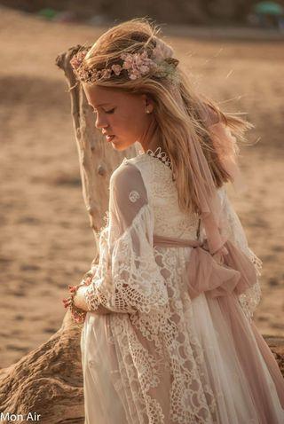 vestido comunión Mon air