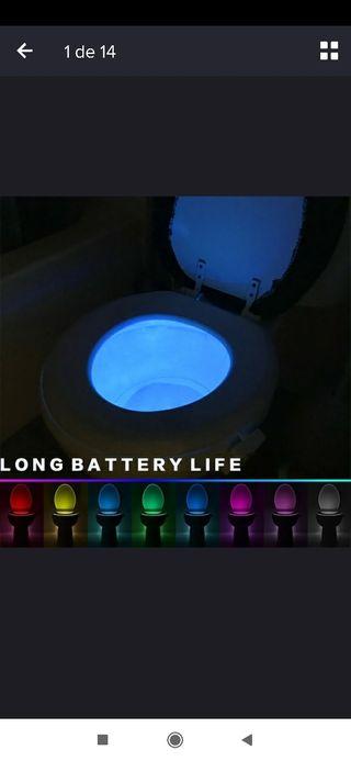 Luz sensor wc NUEVO