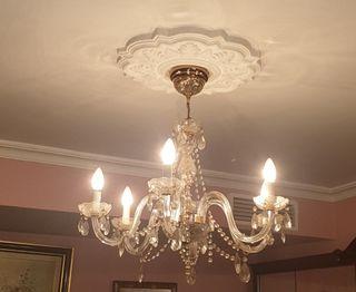 lampara cristal lagrima