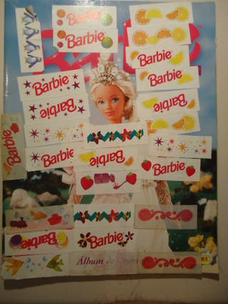 Muñeca Barbie 1995 Album de cromos