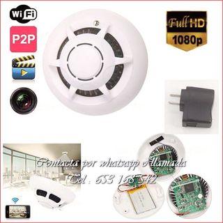 detector humo WI-FI espia videocamara