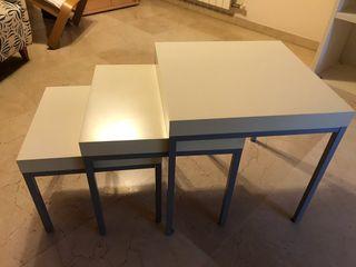 Mesas apilables