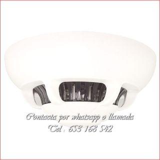 detector humo WI-FI grabador seguridad