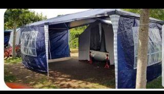 remolque tienda camping