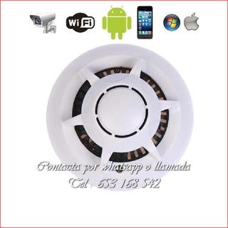 detector humo WI-FI full-HD indetectable