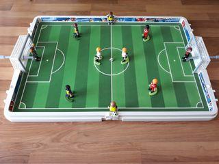 Futbolin de Playmobil.