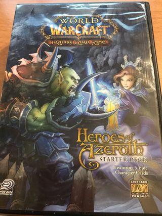 3 cajas de juego de cartas World of Warcraft