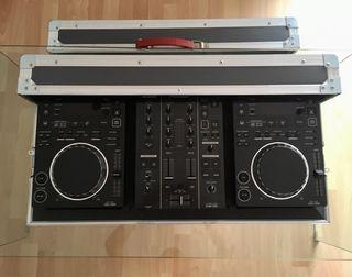 Set Pioneer 2x CDJ-350 1x DJM-350