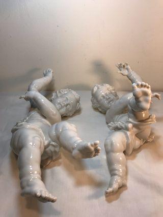 Figuras Porcelana- España- Algora - Angeles