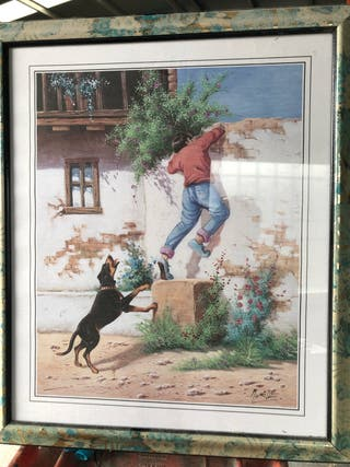 Vendo cuadros antiguos