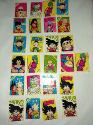 lote sonrics dragon ball