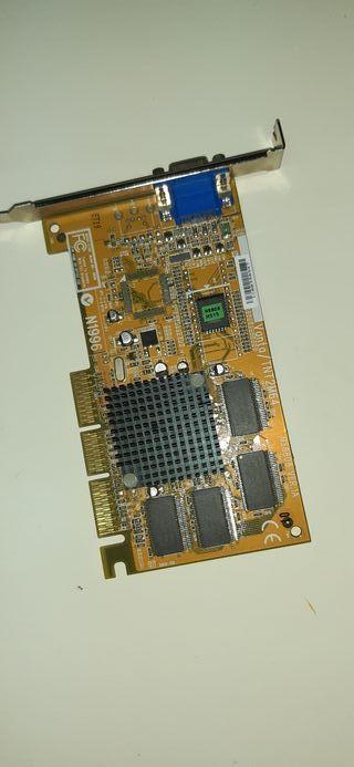 Tarjeta gráfica Nvidia vanta Tnt2M64.