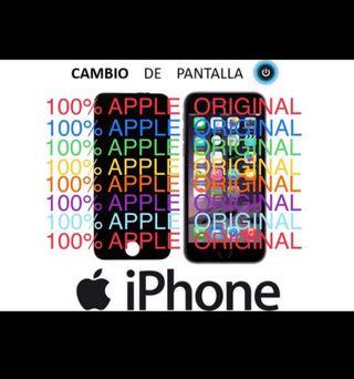 CAMBIO PANTALLAS ORIGINALES DE IPHONE