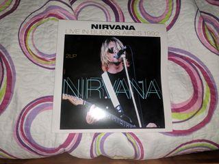 vinilo Nirvana live Buenos Aires Nirvana Kurt