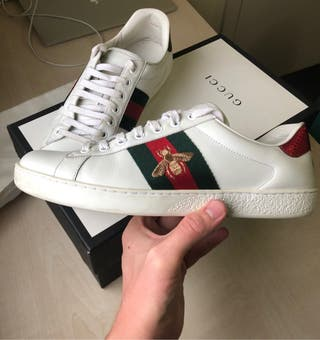 Gucci Ace Embroidered Talla 41.5