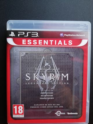 Skyrim edición legendaria PS3