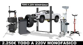 desmontadora camiones tractor agricola monofasica