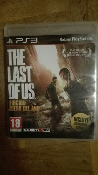 Juego the Last of Us para PS3