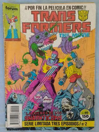 Comic Transformers The Movie. Forum nº49
