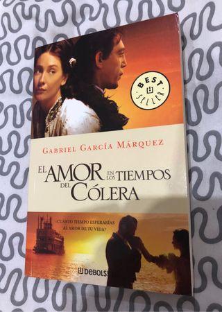 Libro El amor en los tiempos del cólera Marquez