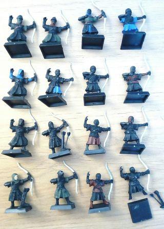 WARHAMMER 16 arqueros bretones