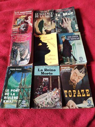 9 libros de francés de bolsillo