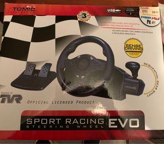Oferta 3x2!!! Volante Consola. Sport racing Evo