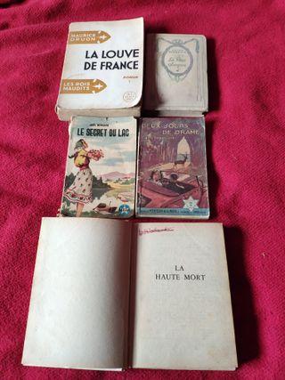 5 libros en francés