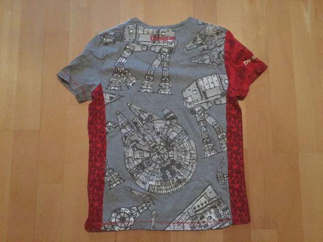 Camiseta Desigual niño Star Wars talla 9/10