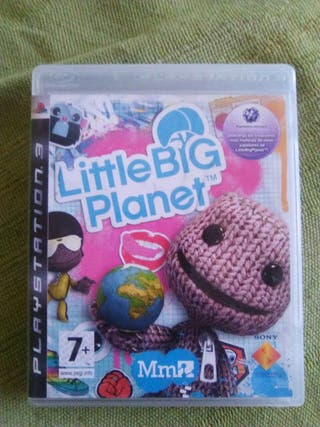ps3 juego little big planet