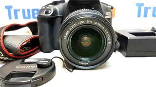 Cámara Reflex Canon EOS 4000D con objetivo 18/55.