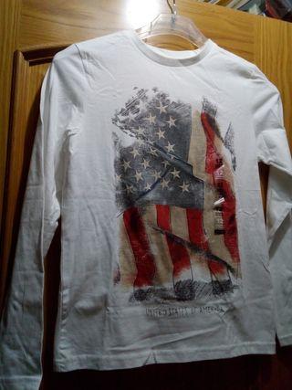 Camiseta niño 12 años Kiabi nueva
