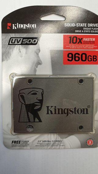 Disco Duro SSD Kingston 960Gb